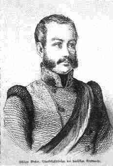 Johann Philipp Becker  (zeitgenössische Darstellung)